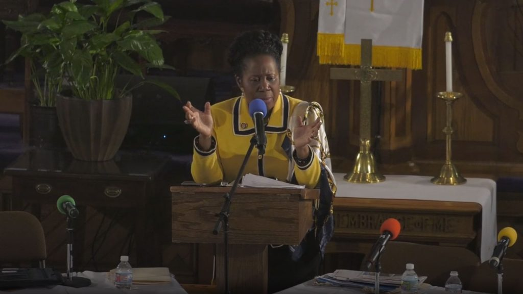Congresswoman Sheila Jackson Lee at NAARC/ACLU Juneteenth Forum: HR-40 and the Promise of Reparations for African Americans