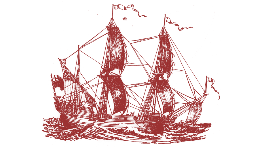 Artists Recreation of the English Merchant Slaver Henrietta Marie