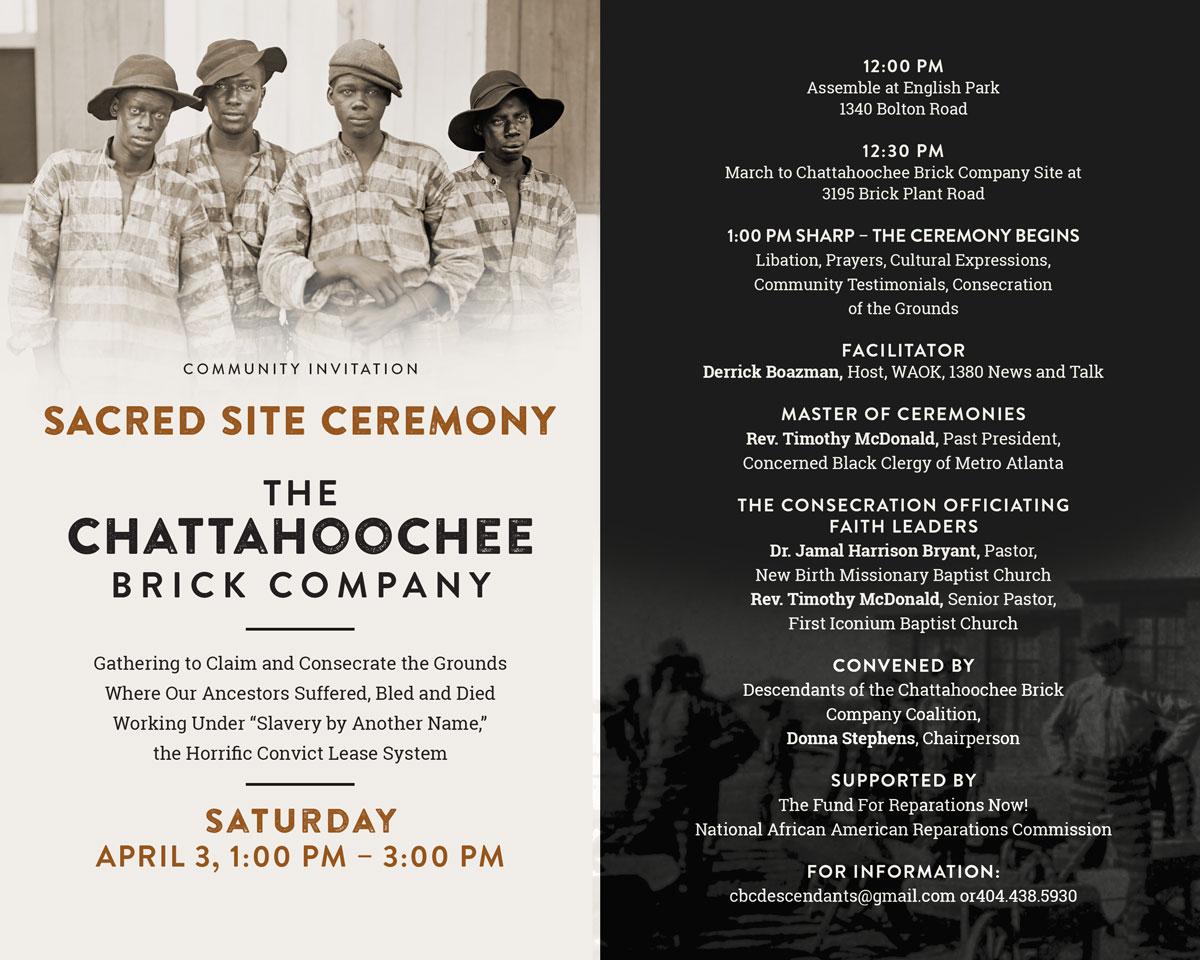 Chattahoochee Brick Company Sacred Site Ceremony