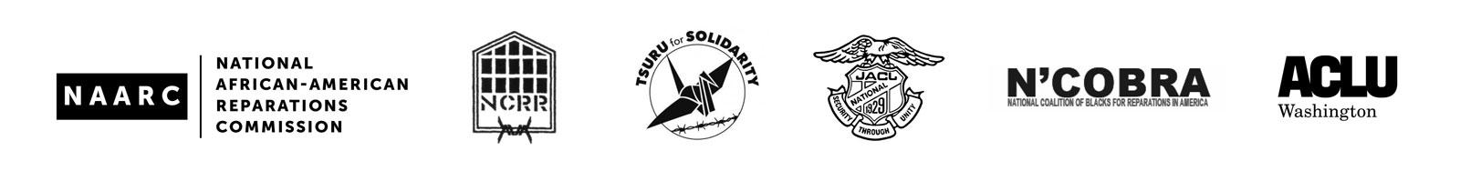 naarc, ncrr, tsuru for solidarity, jacl, ncobra, and aclu