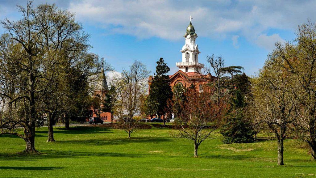 The Virginia Theological Seminary, in Alexandria, Va