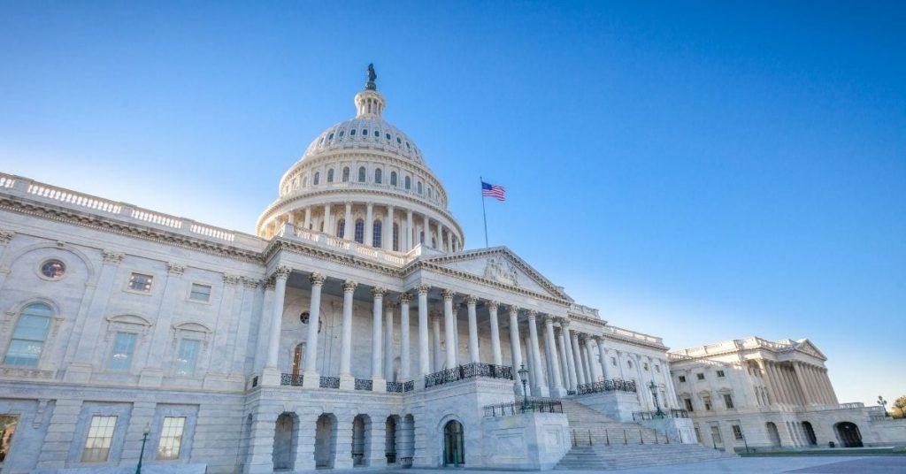 US Capitol Building in Washington, DC