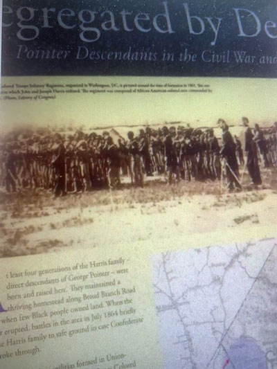 Marker: Segregation By Design: Pointer Descendants in the Civil War and Today.