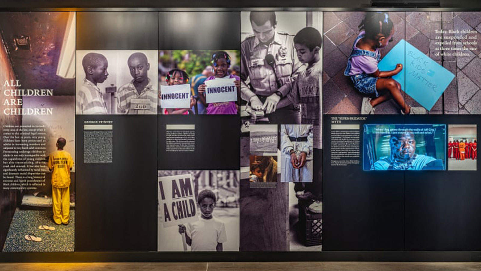 'The museum makes plain that the sores of America's racial wounds remain very much open.'